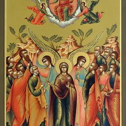 Пазл онлайн: Вознесение Господне