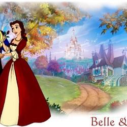 Пазл онлайн: Белль и принц