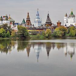 Пазл онлайн: Кремль В Измайлово