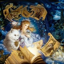 Пазл онлайн: Сказочный мир
