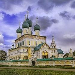 Пазл онлайн: Воскресенский собор, г.Тутаев