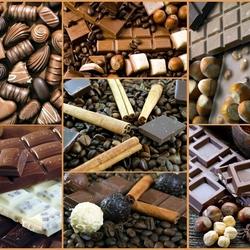 Пазл онлайн: Шоколадомания