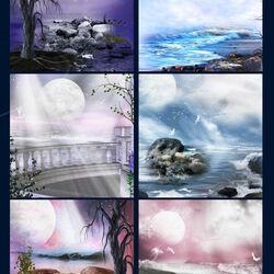 Пазл онлайн: Лунное сияние