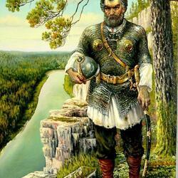 Пазл онлайн: Покоритель Сибири