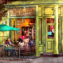 Пазл онлайн: Кафе в Хобокен, Нью-Джерси