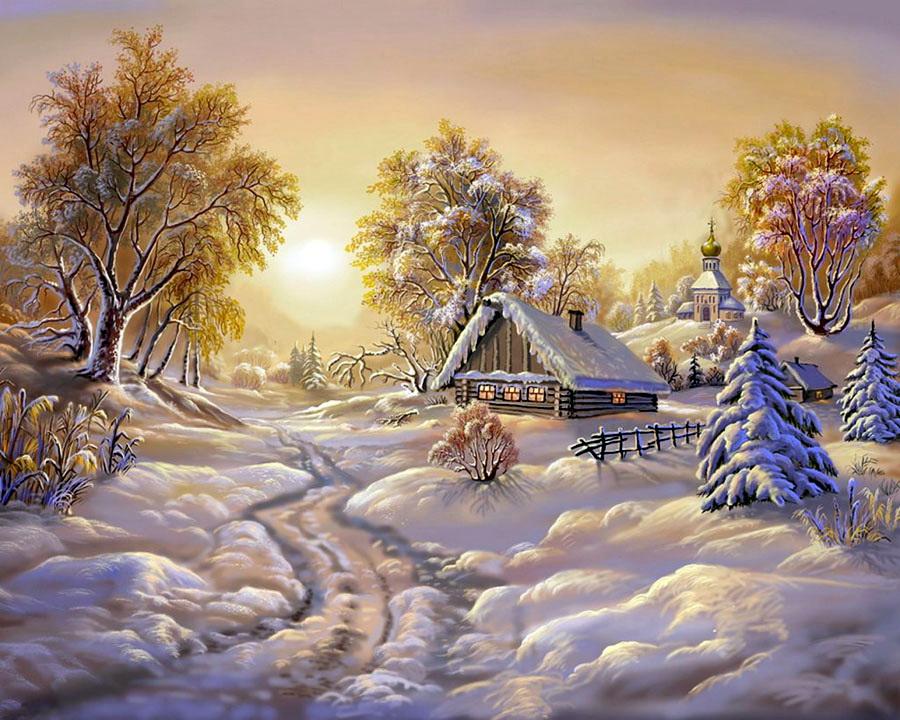 гифки зимние пейзажи с пожеланиями помощью правильного расположения
