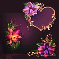 Пазл онлайн: Романтические орхидеи
