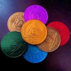 Пазл онлайн: Монетки