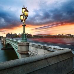 Пазл онлайн: Мост через Темзу