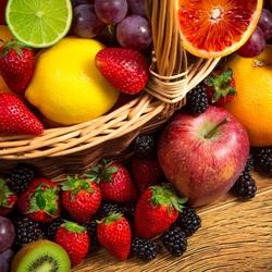 Пазл онлайн: Вкусно и полезно
