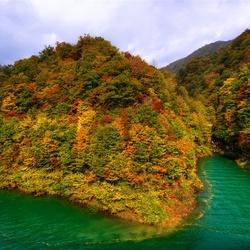 Пазл онлайн: Озеро Tazawа