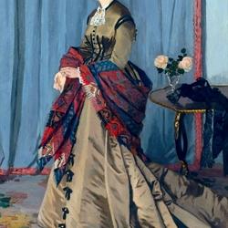 Пазл онлайн: Портрет мадам Годибер