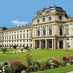 Пазл онлайн: Вюрцбургская резиденция(фрагмент)