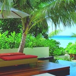 Пазл онлайн: Мальдивы