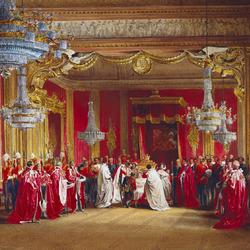 Пазл онлайн: Буккингемский дворец