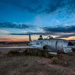 Пазл онлайн: Сломанный самолет