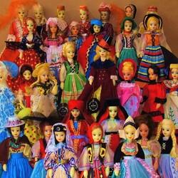 Пазл онлайн: Народные куклы