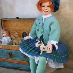Пазл онлайн: Кукла Мэри