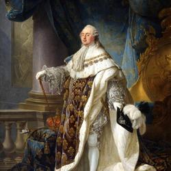 Пазл онлайн: Людовик XVI в коронационном костюме