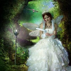 Пазл онлайн: Лесная невеста