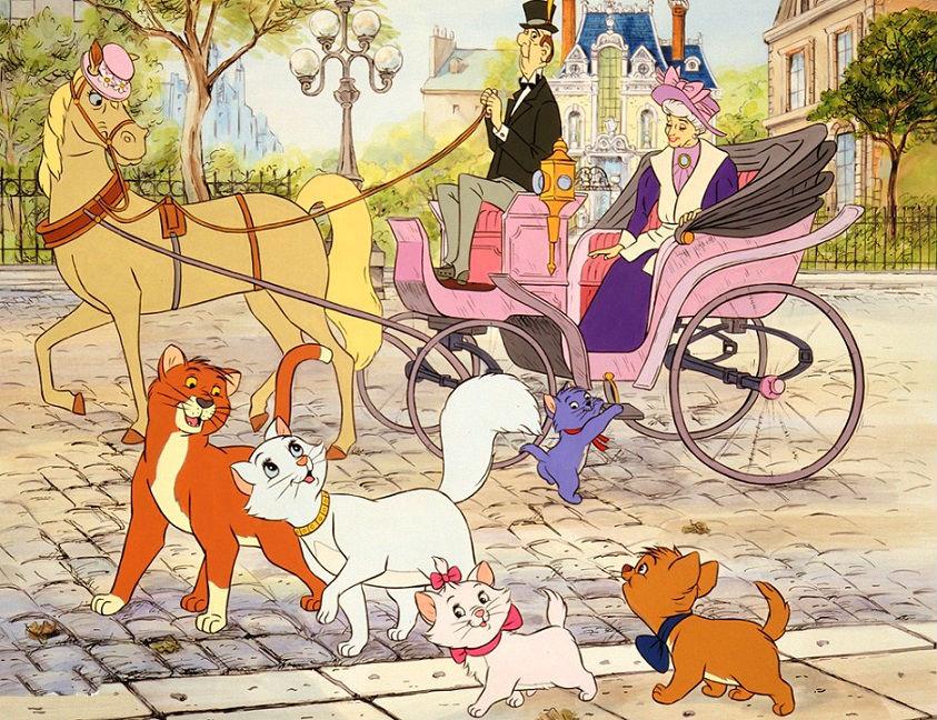 Картинки коты аристократы мультик, курган картинки для