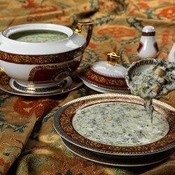 Пазл онлайн: Азербайджанский суп Довга