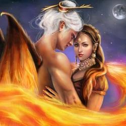 Пазл онлайн: Любовь ангела
