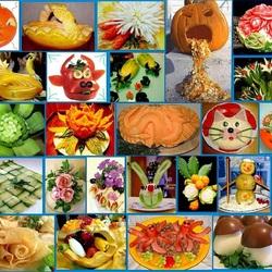 Пазл онлайн: Оформление блюд