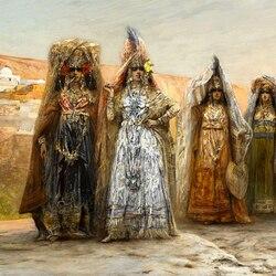 Пазл онлайн: Женщины Востока