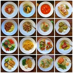 Пазл онлайн: Обеденные блюда