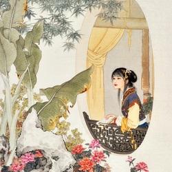 Пазл онлайн: Красота за окном