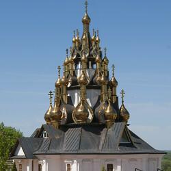 Пазл онлайн: Храм Преображения Господня