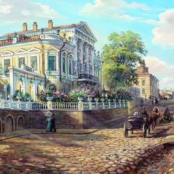 Пазл онлайн: Пермь. Дом Мешкова XIX век