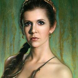 Пазл онлайн: Принцесса Лея