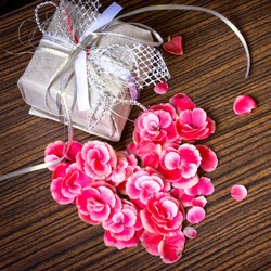 Пазл онлайн: В День Святого Валентина