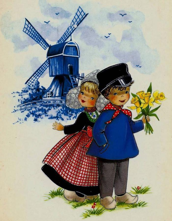Картинка, открытки голландии