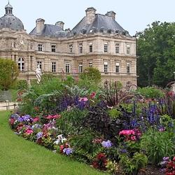Пазл онлайн: Люксембургский дворец в Париже(фрагмент)