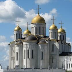 Пазл онлайн: Успенский собор