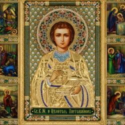 Пазл онлайн: Святой Целитель Пантелеймон