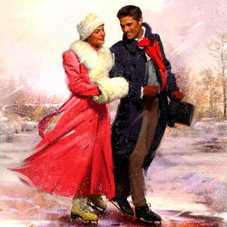Пазл онлайн: Зимняя романтика