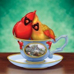 Пазл онлайн: Ты мой сладкий чай