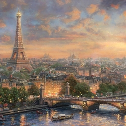 Пазл онлайн: Париж - город любви