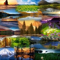 Пазл онлайн: Красота родной Земли