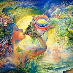 Пазл онлайн: Мелодия моря