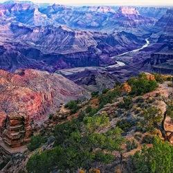 Пазл онлайн: Большой каньон