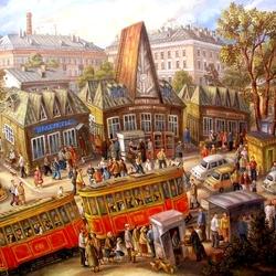 Пазл онлайн: Коптевский рынок