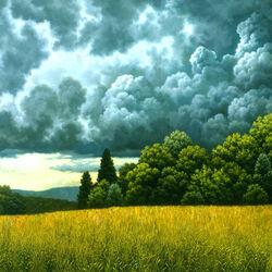 Пазл онлайн: Облака