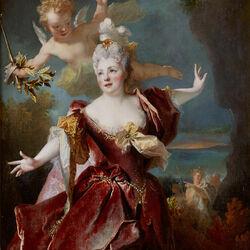 Пазл онлайн: Портрет актрисы Мари-Анн де Шатонеф