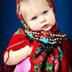 Пазл онлайн: Русская модница
