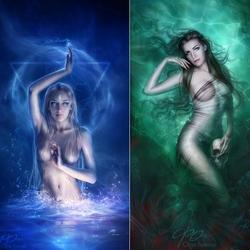 Пазл онлайн: Темные воды
